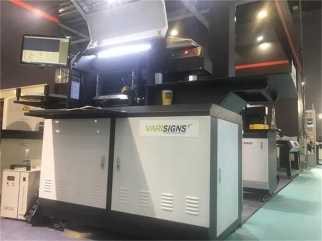 varisigns channel letter bending machine