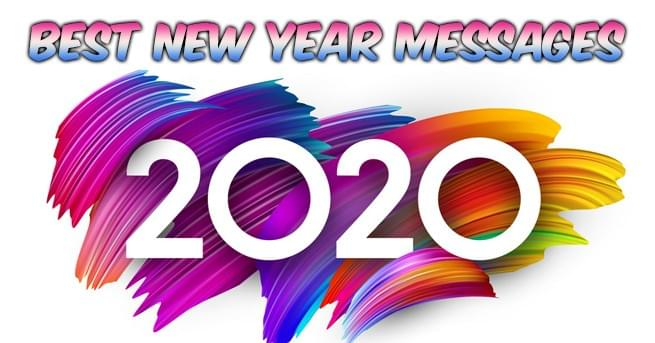 Best New Year Messages 2020