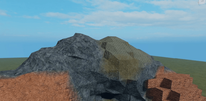 Image of a terrain generated with their new method