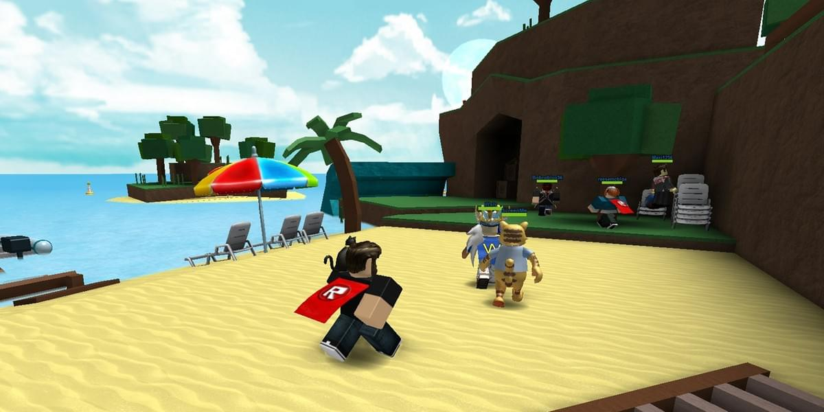 An in-game screenshot of Roblox