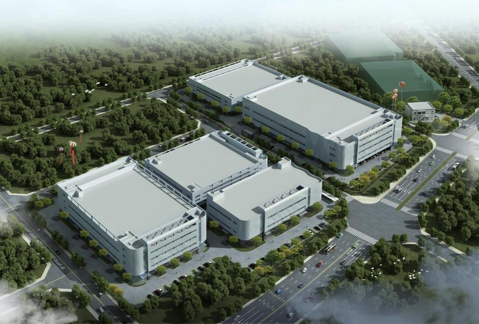 The factory in Wuxi City, Jiangsu Province, China. This is a concept drawing. Nreal