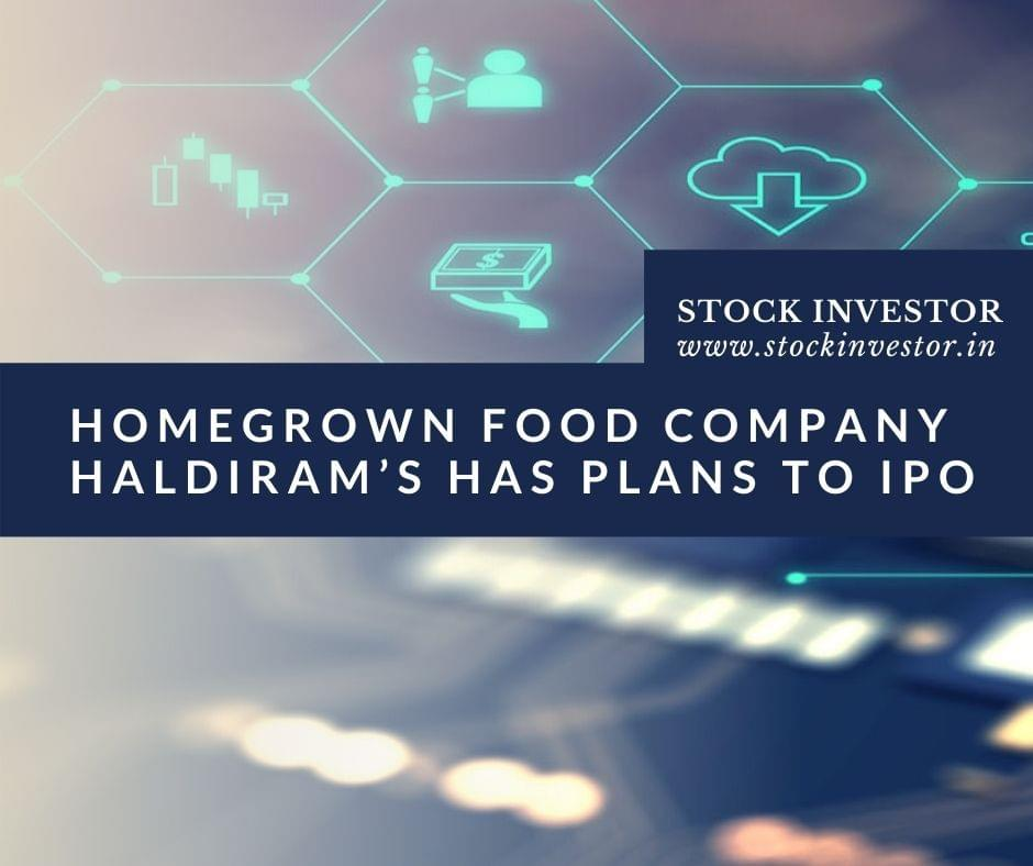 Homegrown food company Haldiram's has plans to IPO