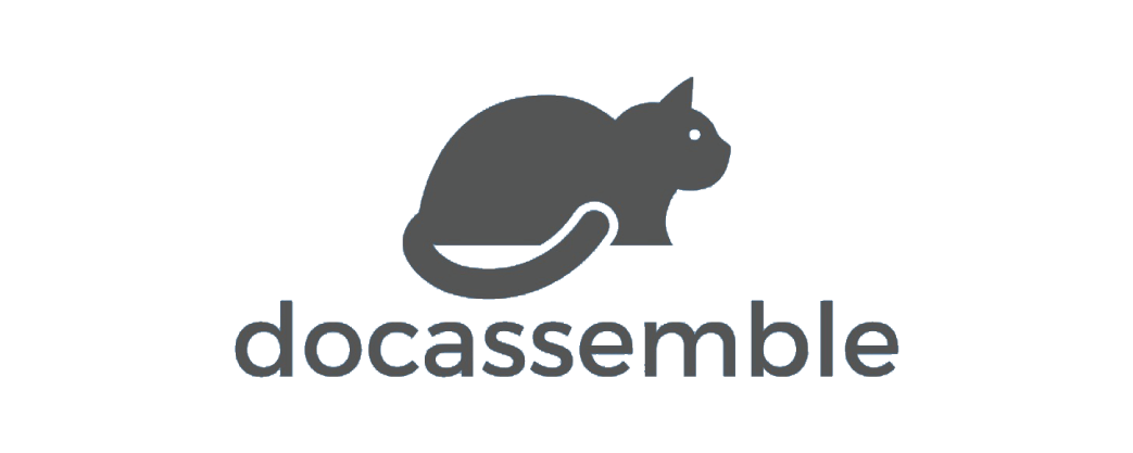 Docassemble logo and website link