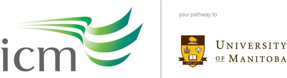 ICM and University of Manitoba logo
