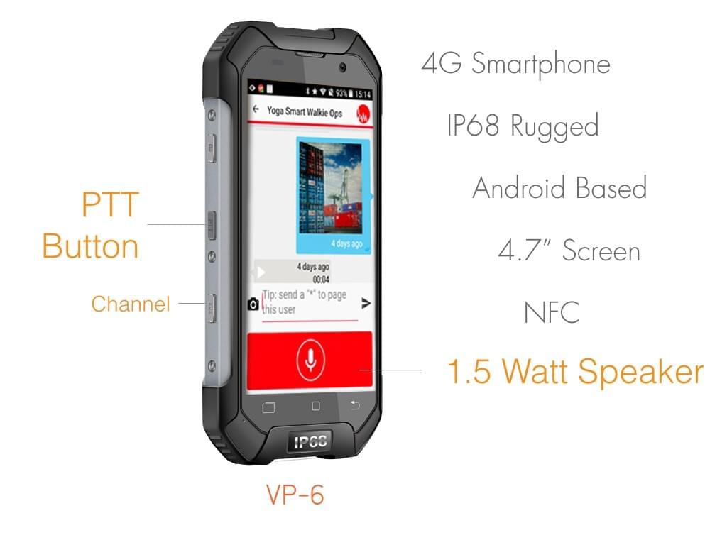 Infornest Paired with Smart Walkie Talkie
