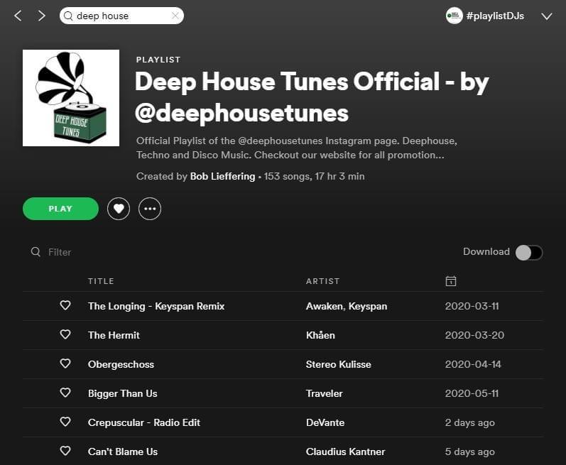 Deep House Tunes