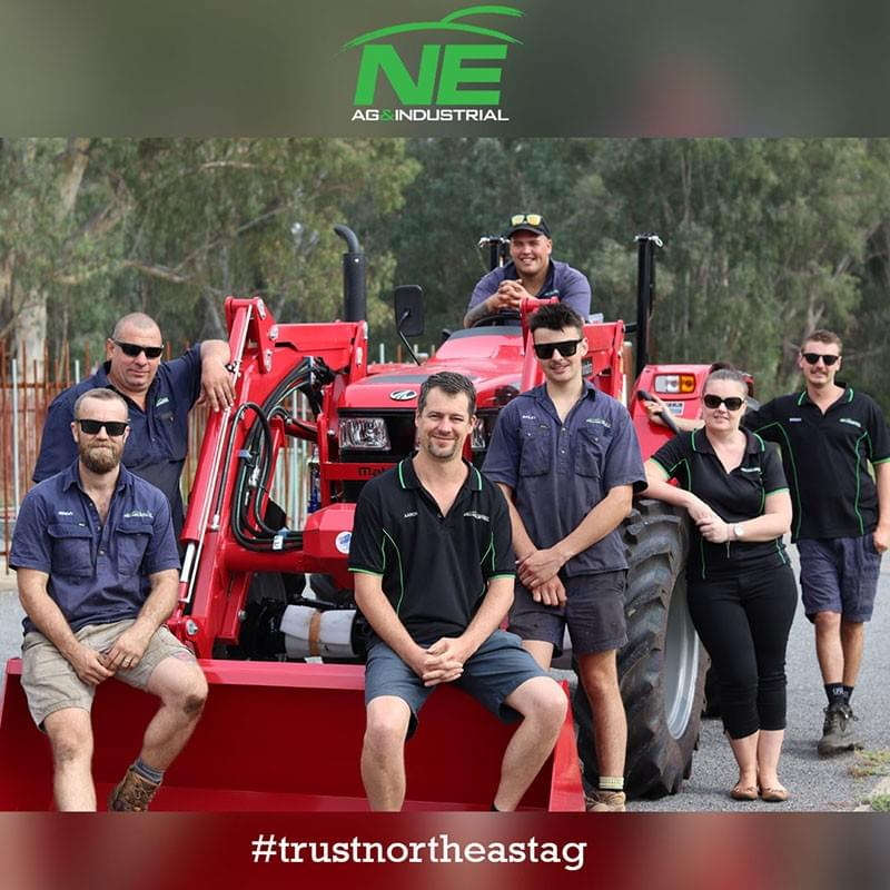 Aaron Plum and team North East AG & Industrial