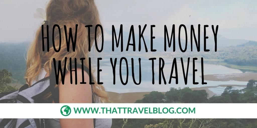 How to Make Money While You Travel: visual.addiction
