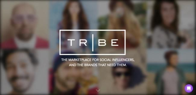 TRIBE - influencer marketing