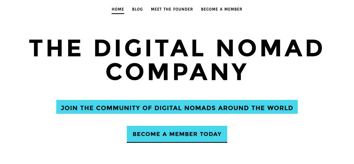 The Digital Nomad Company