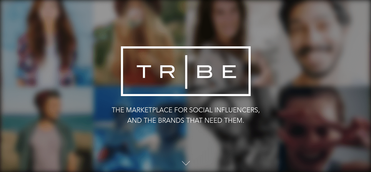 TRIBE: Marketplace for Social Influencers