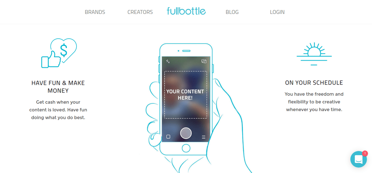 fullbottle: Marketplace for Social Influencers
