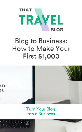 Blog to Business: How to Make Your First $1,000