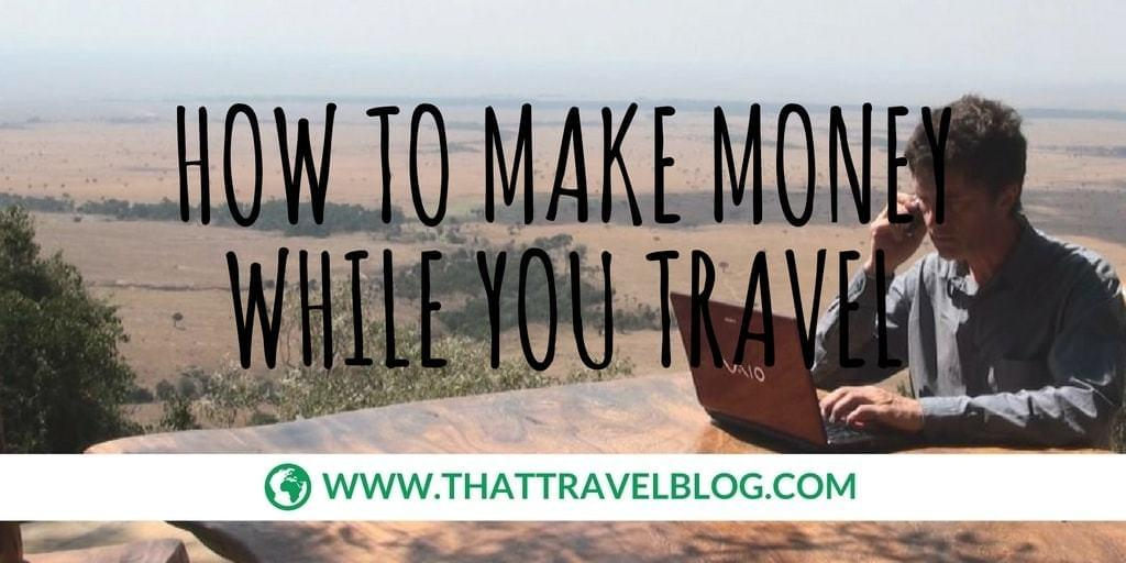 How to Make Money While You Travel: Video Journalist Africa