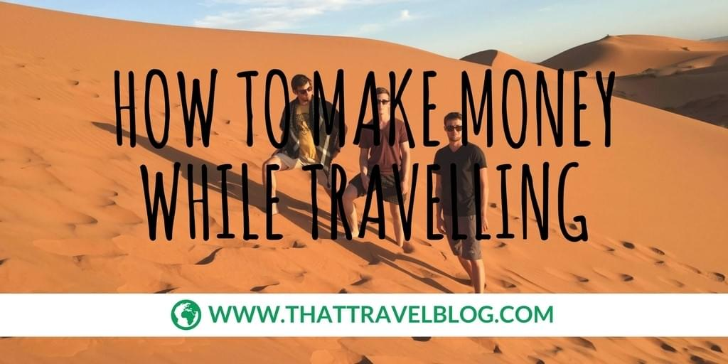 How to Make Money While Travelling: TripHappy