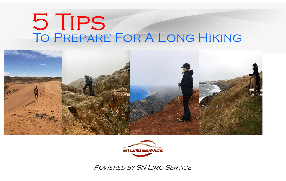 5 Tips To Prepare For A Long Hike