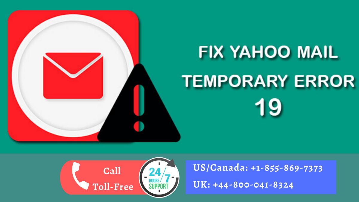How To Fix Yahoo Error Code 19?