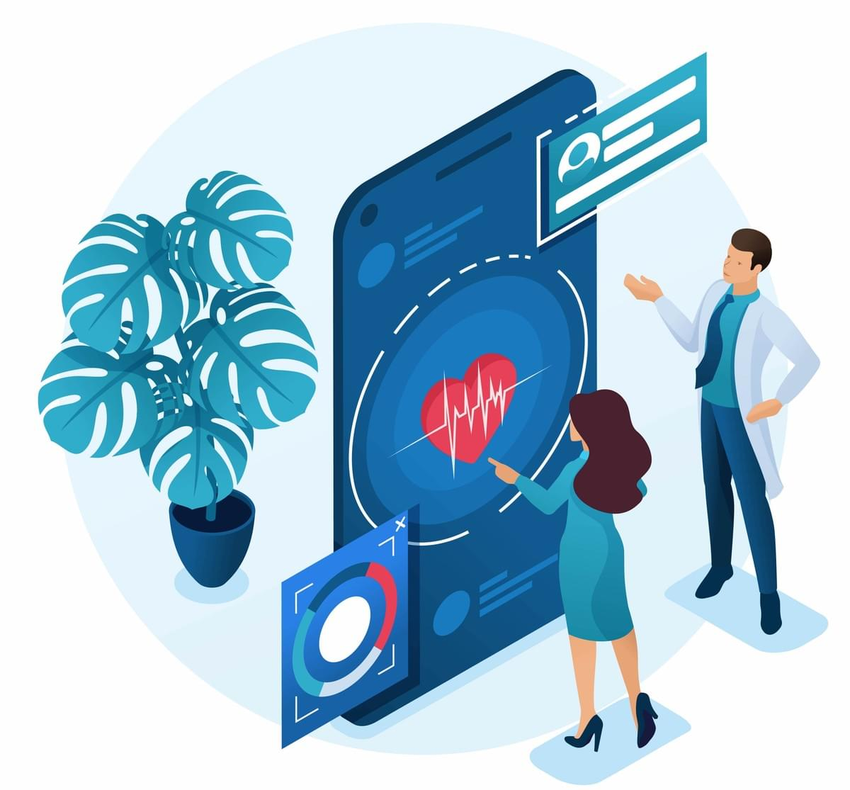 At medudoc we  believe that personalized, standardized and digitalized patient education is the key to a successful state-of-the-art doctor-patient communication.