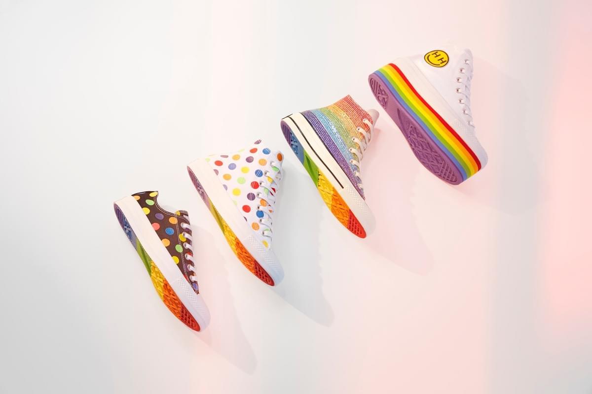 Miley x Converse for Pride