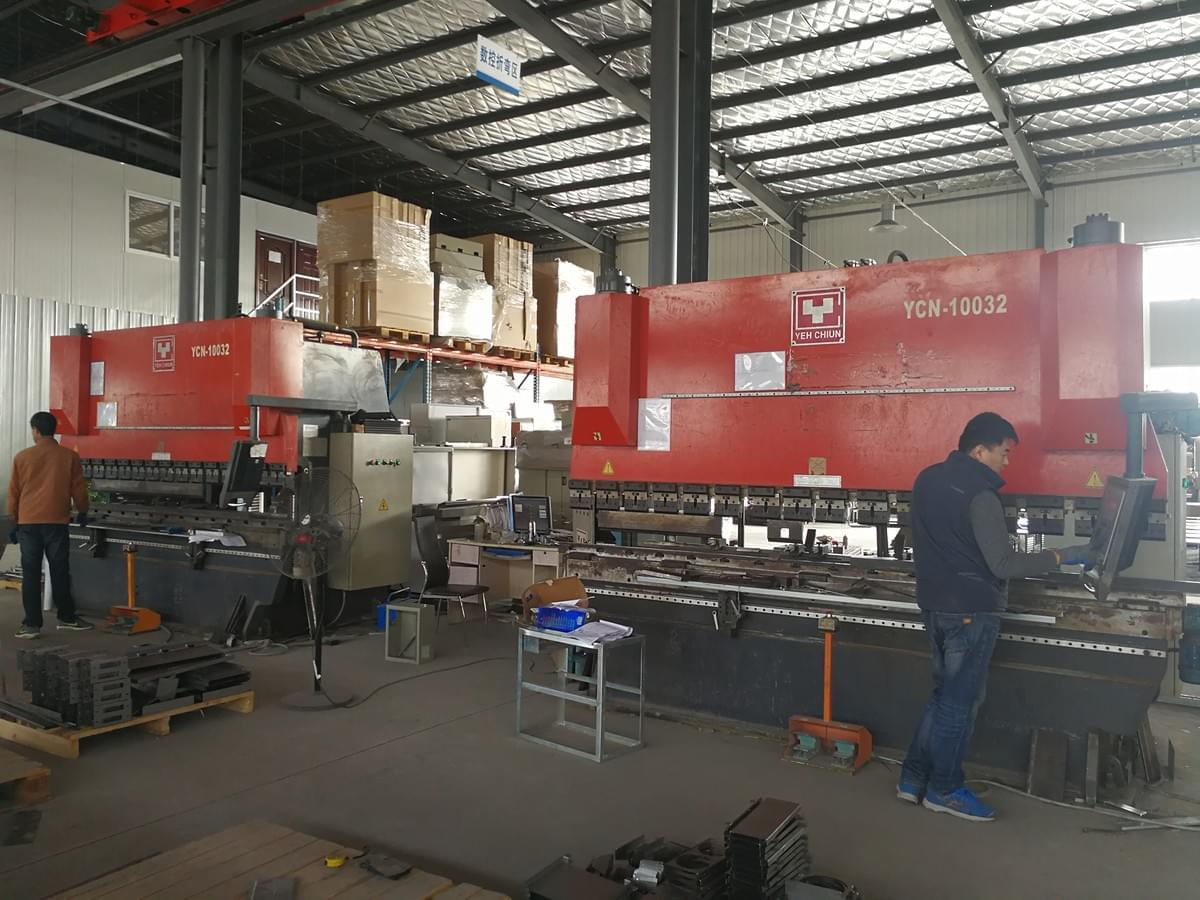 Suntech sheet metal fabrication workshop--laser cutting bending welding