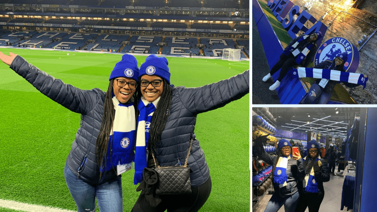chelsea sweepstakes, chelsea football, black sisters travel, raqhtheworld, black travel movement, london, nottinghill, how i won a free trip to london
