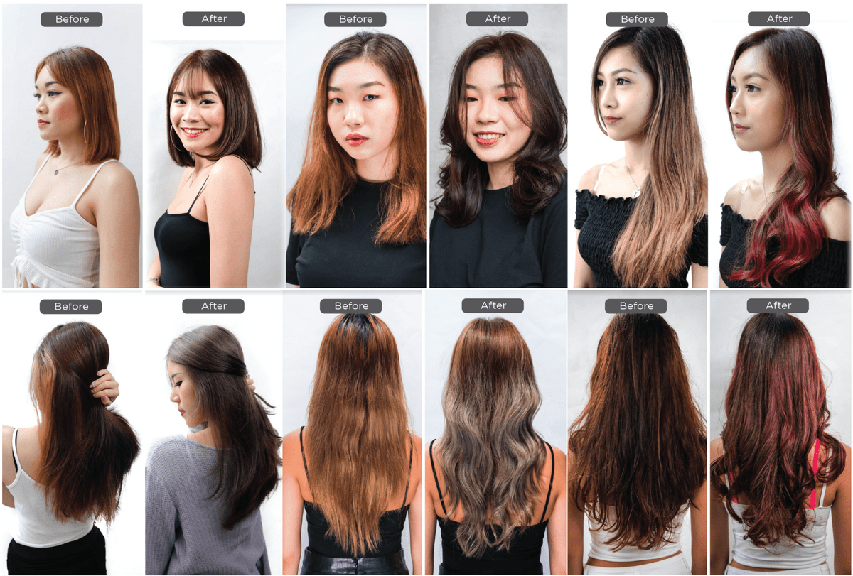 Haircut is offered at Walking On Sunshine Hair Salon in Singapore