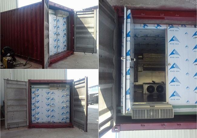 renewed containerized cold room