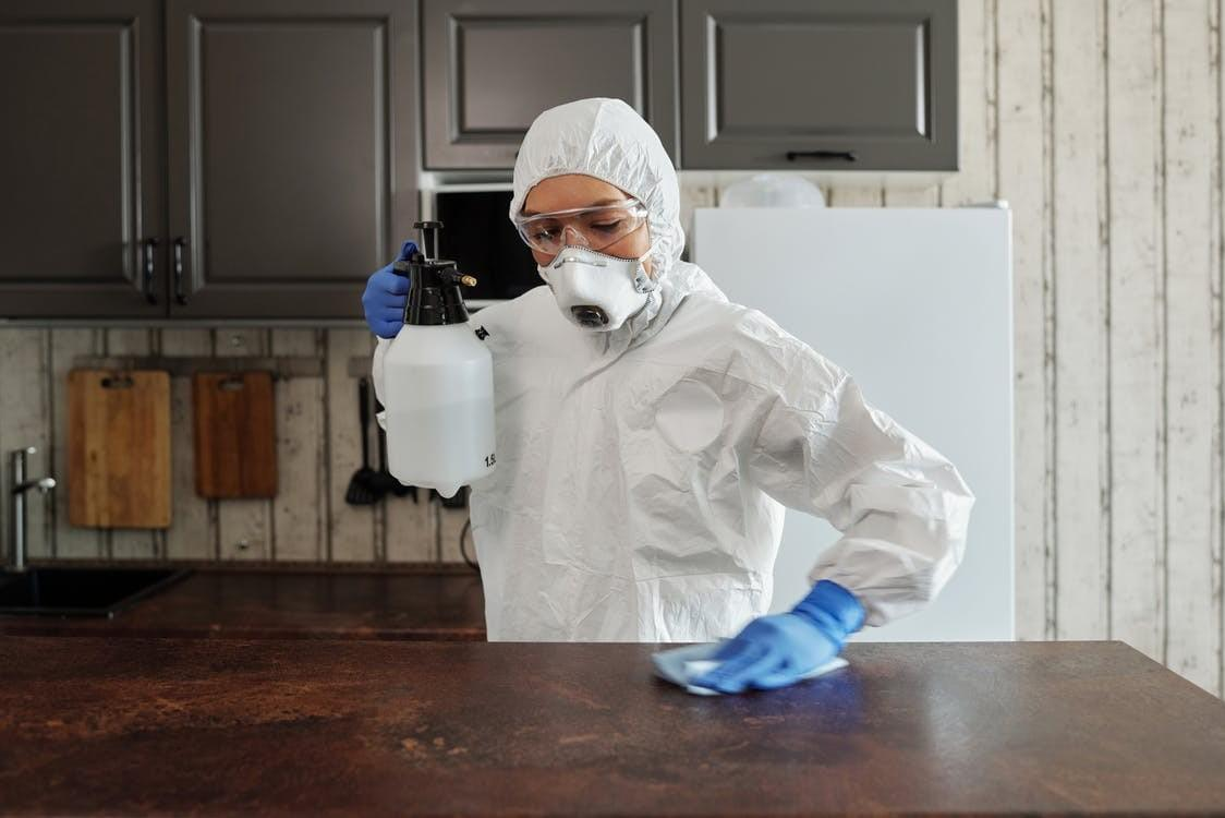 Understand the difference between cleaning and sanitization - sanitization