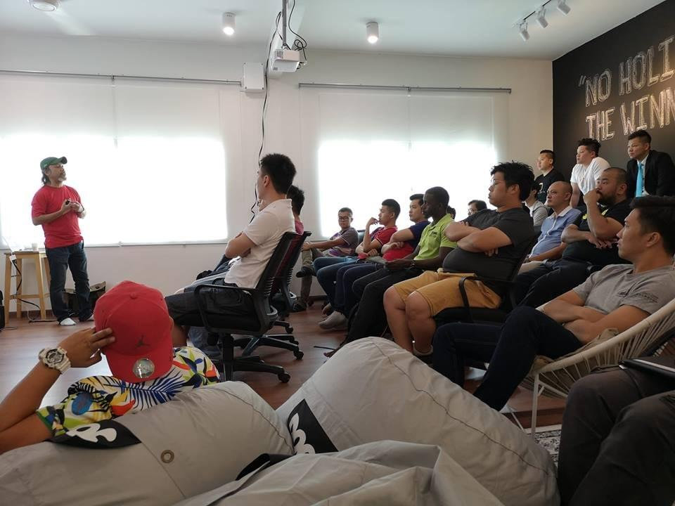 pitchIN x Startup Melaka at Grind Shack Workspace