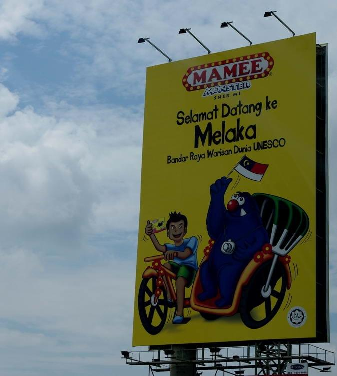 Mamee welcomes you to Melaka~