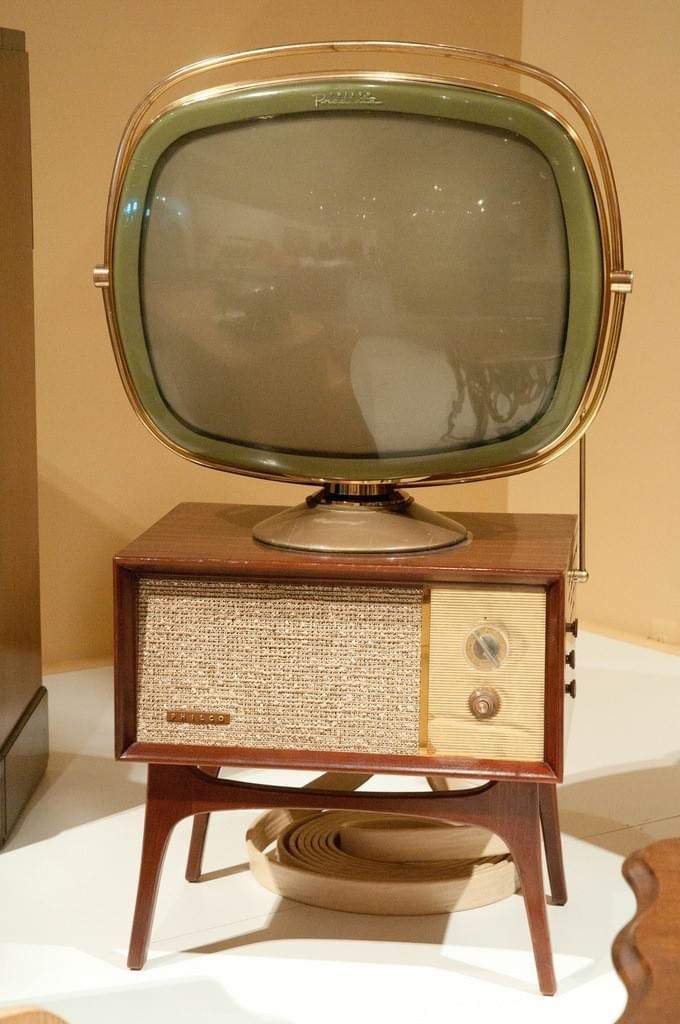 "To the reader: The device above is something called a ""television"""