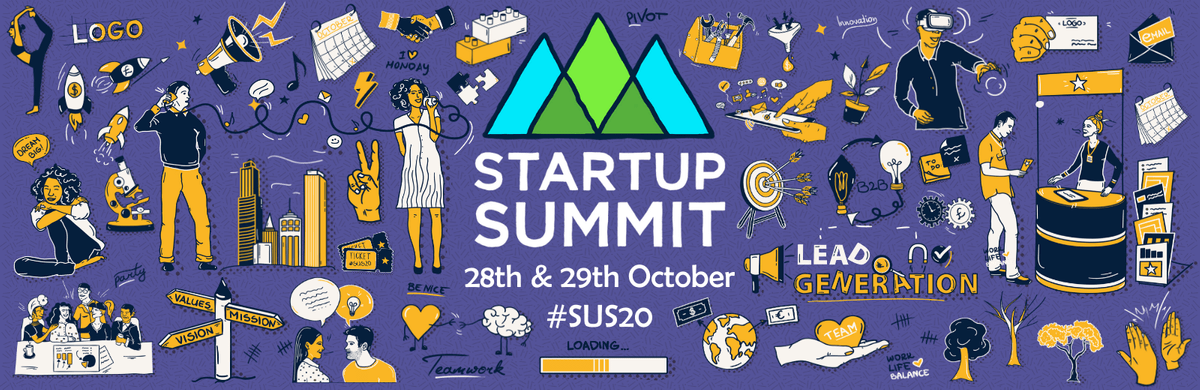 Startup Summit - 28th and 29th October - #SUS20