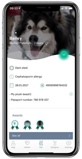 KeepPet - Digital pet passport with telehealth service on your phone
