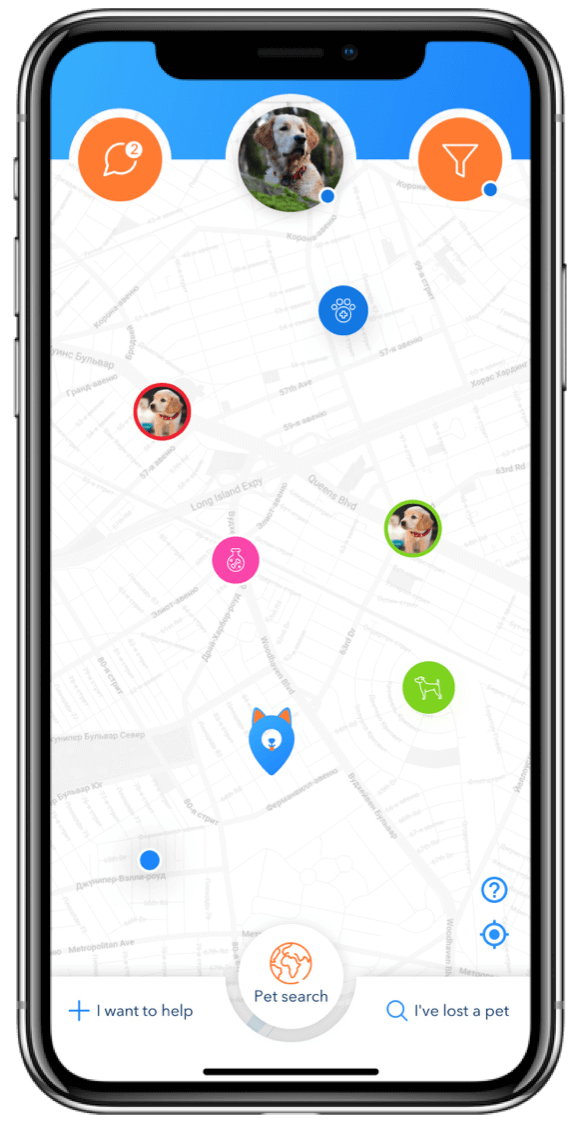 Pet-friendly app for pet lovers and pet owners. Lost and Found pet alerts , City spots to spend time with your pet , social network for pet owners and pet lovers . Use SpotPet app to make friends for you and your pet