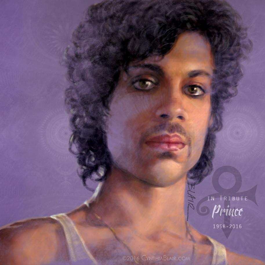 Prince, a portrait to remember him by