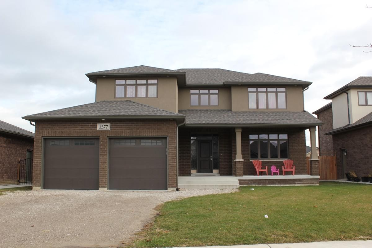 Two Storey New Brick Home