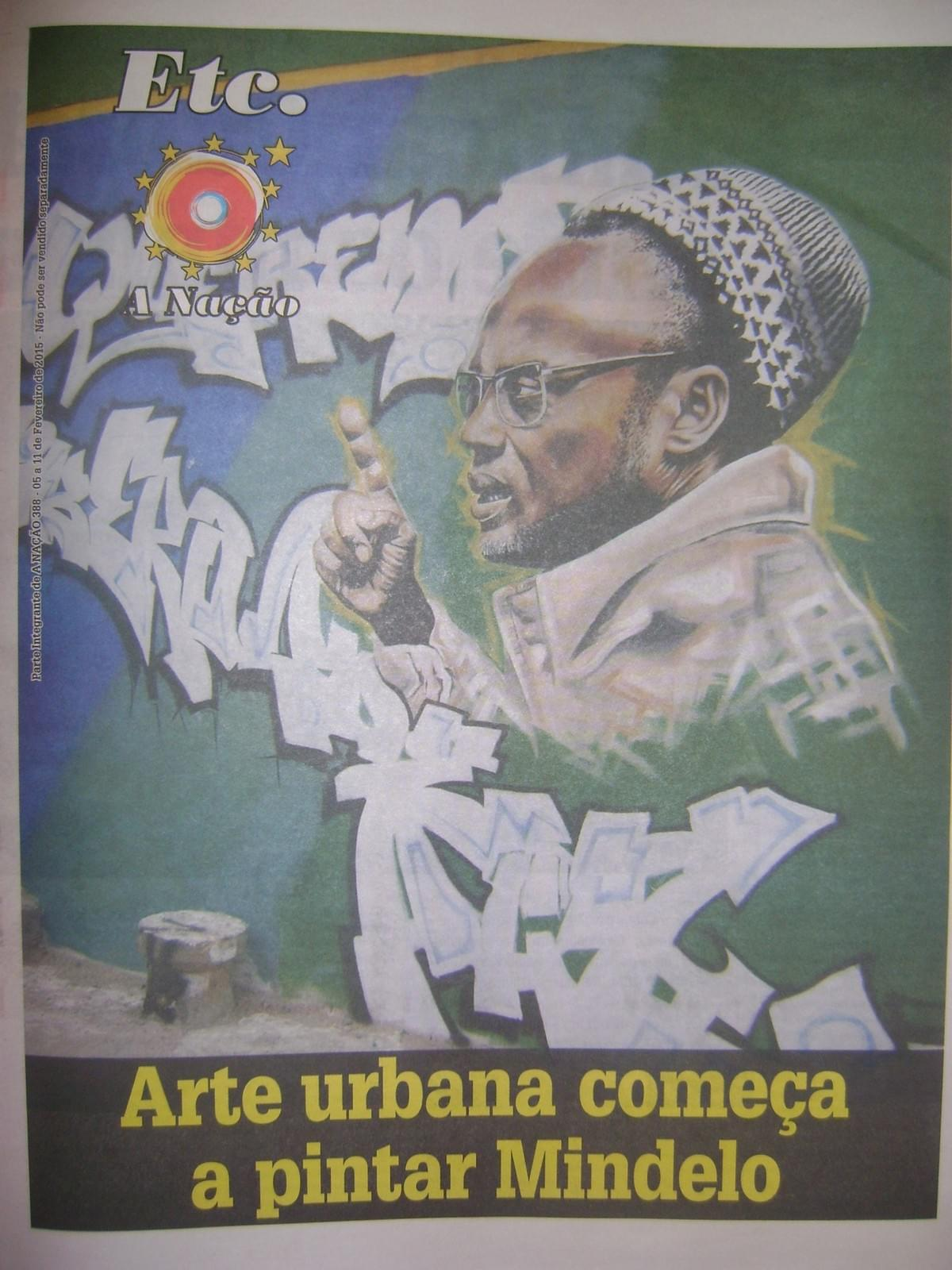 Sonvela Arte featured in national newspaper A Nação
