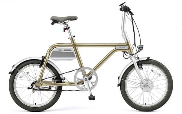 電動アシスト自転車 COOZY (CHAMPAGNE GOLD)online shop 限定