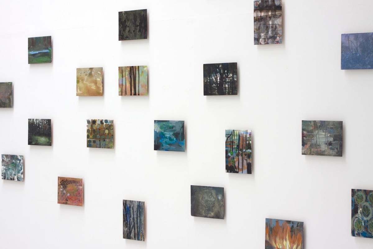 Painting - schilderij - Harm van den Berg - Installation view: S.P. ,