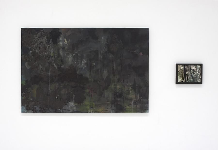 Painting - schilderij - Harm van den Berg - Out There,  2013, 180 x 125 cm, oil / acrylic on Dibond