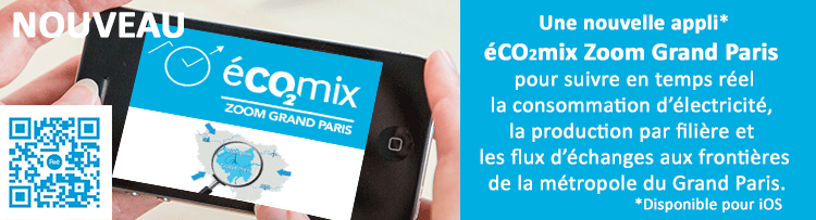 éco2mix Zoom en Métropole du Grand Paris !