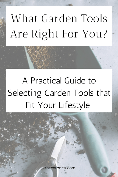 Garden Tools What Is Right For You