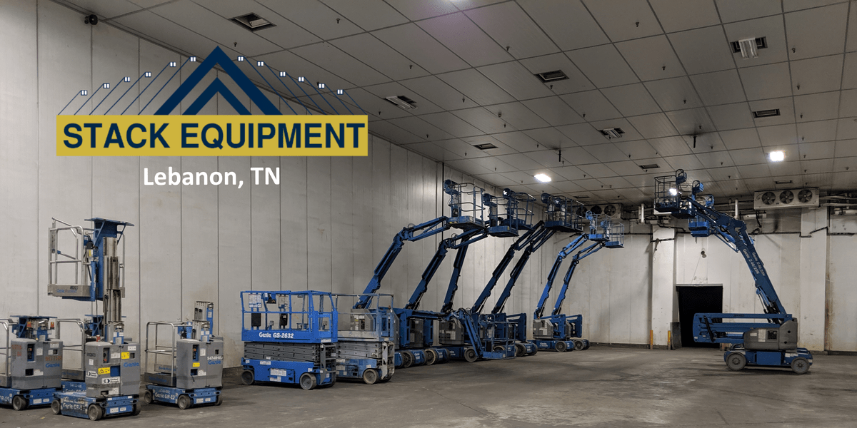 Stack Equipment Lebanon and Nashville, Tennessee - Value-Added Equipment by Genie, JLG, Skyjack and more