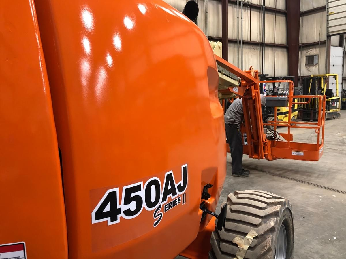 Painted JLG 450AJ Articulating Boom Lift
