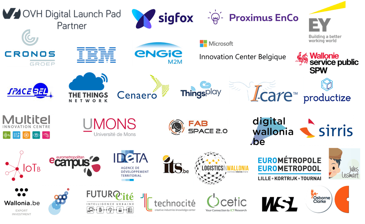 All the partners of the MoveUp