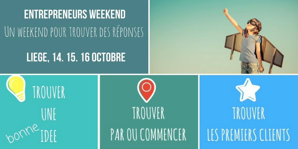 Entrepreneurs Weekend Bruxelles 2016