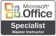 Microsoft Office Specialist Master Instructor