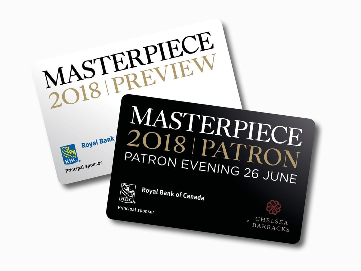 Masterpiece London - Art Fairs - brand identity design, marketing and brand implementation
