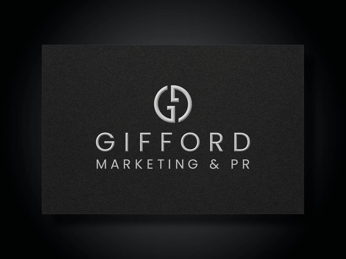 GIFFORD MARKETING & PR I Brand identity and website design