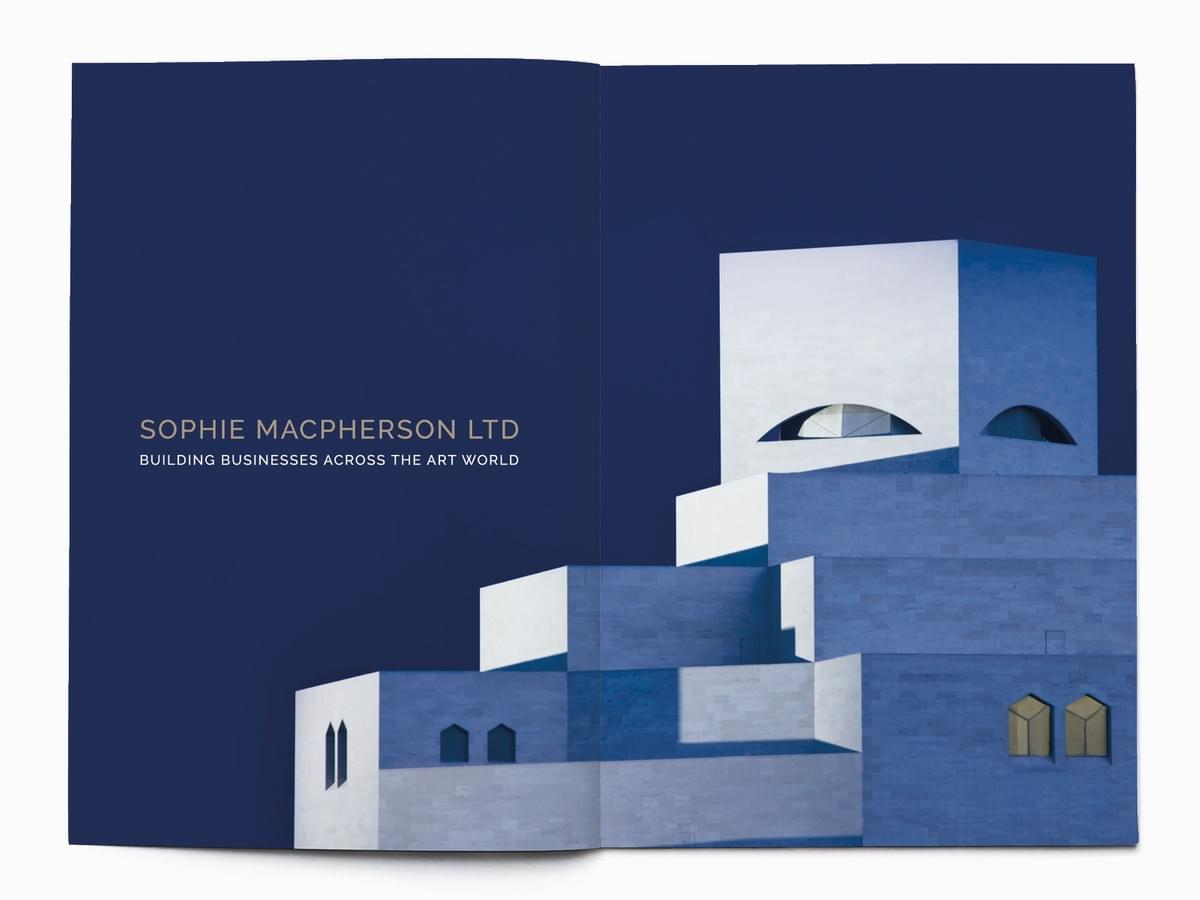 Sophie Macpherson Limited - Brand identity design and marketing materials